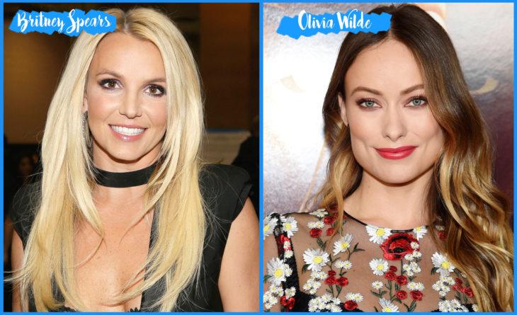 Britney Spears y Olivia Wilde
