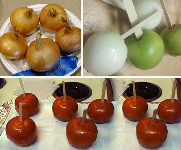 manzana sorpresa