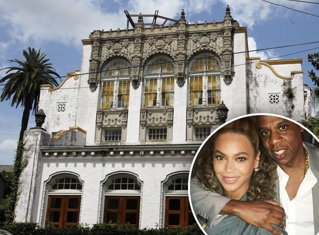 Beyonce y Jay-Z en Nueva Orleans