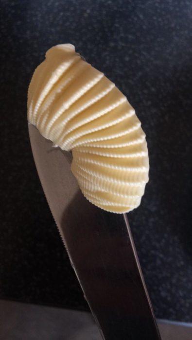 cucharada de mantequilla