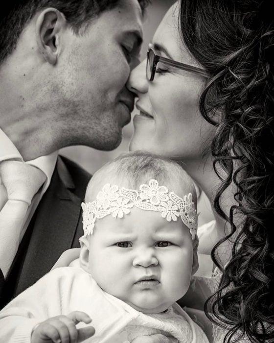 La cara de la bebe lo dice todo