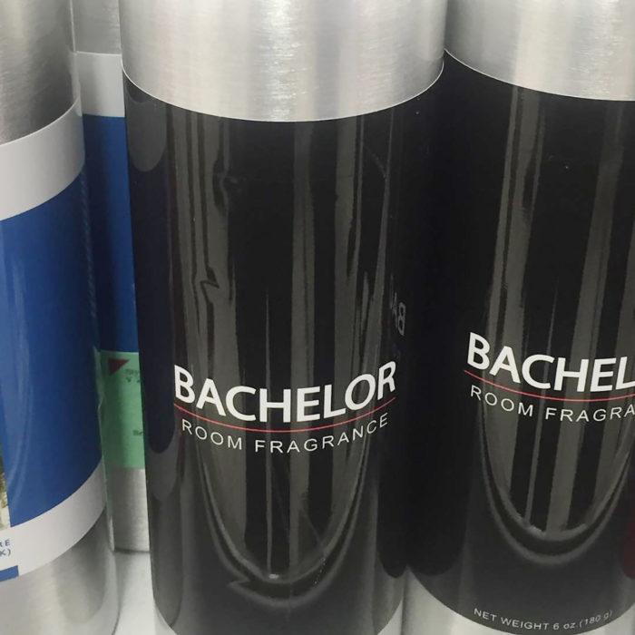 Fragancia olor a departamento de soltero