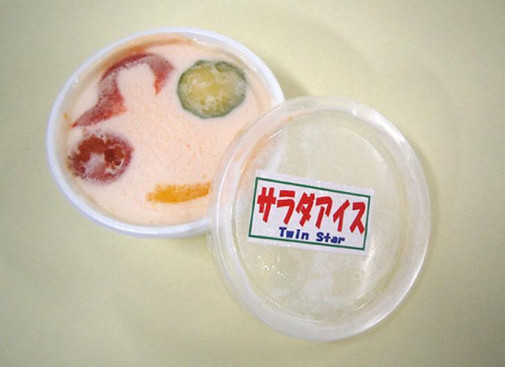 helado sabor ensalada