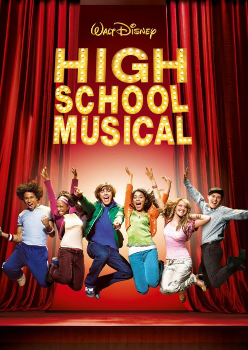 portada de high school musical