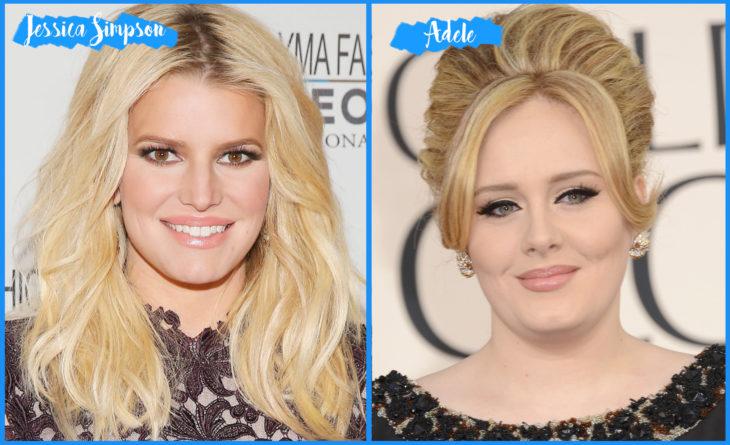 Jessica Simpson y Adele