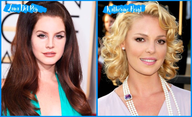 Lana Del Rey and Katherine Heigl