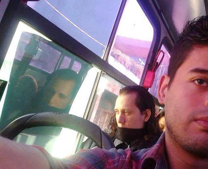 loki en el transporte público