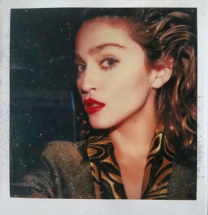 selfie de madonna 1982