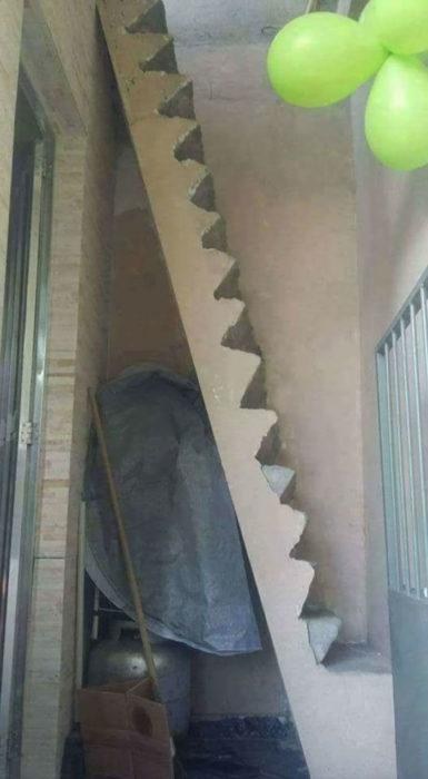escalera o escalada