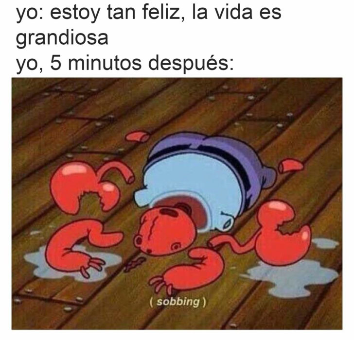 don cangrejo meme llorando