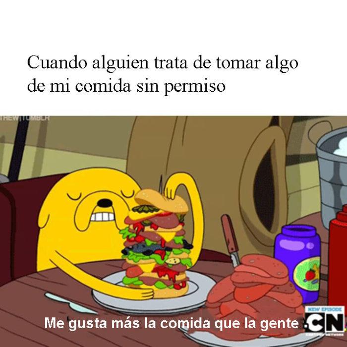 memes hambre me gusta mas