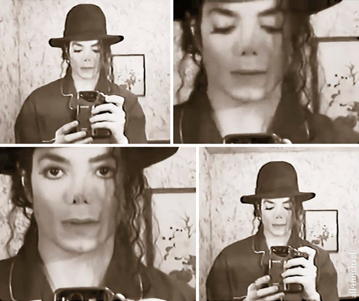 selfie de michael jackson 1996