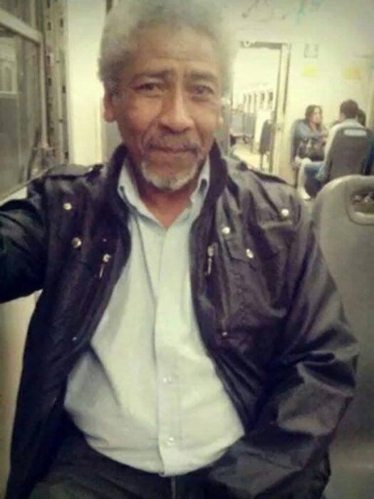 Morgan Freeman en el transporte público