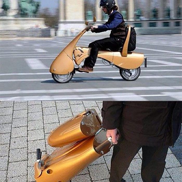 motocicleta portable