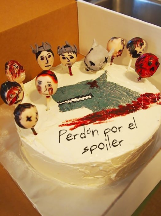 pastel de disculpas de game of thrones