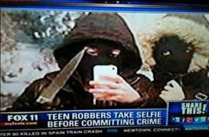 selfie de rateros