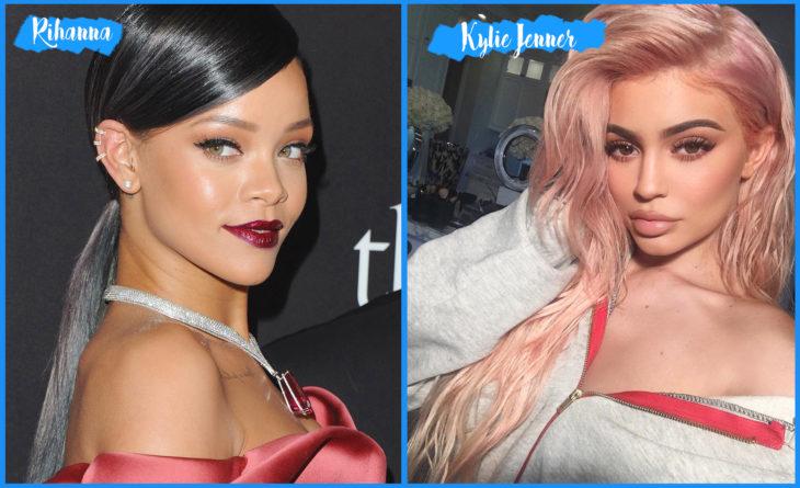 Rihanna y Kylie Jenner