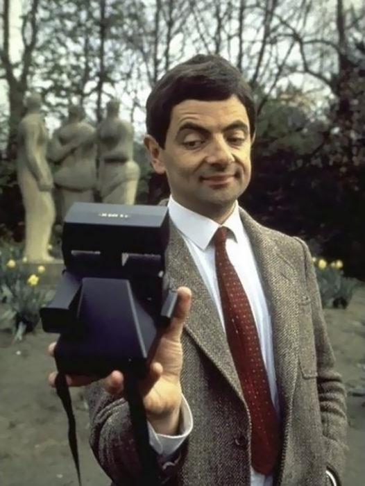 selfie de mister bean
