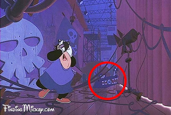 cocodrilo Tick Tock de Peter Pan en la película de Goofy
