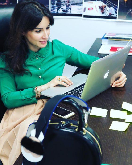 fotos en la oficina
