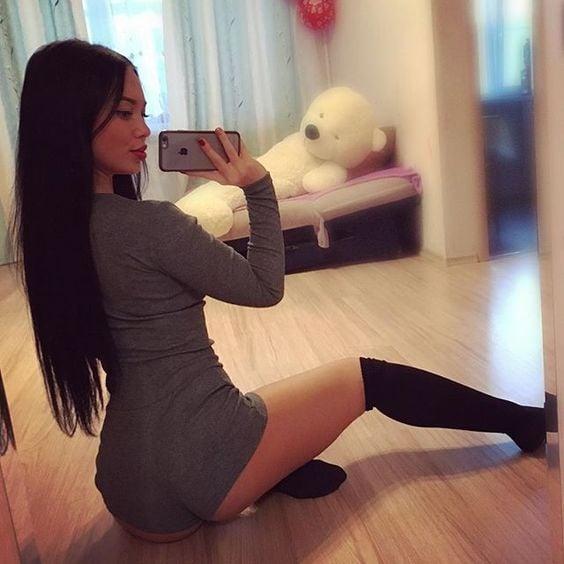 selfie sensual