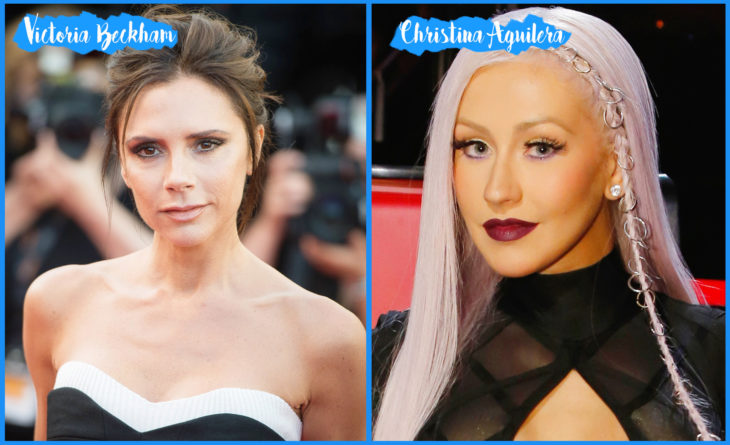 Victoria Beckham y Christina Aguilera