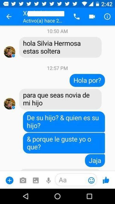 Inbox mamá le busca novio a su hijo