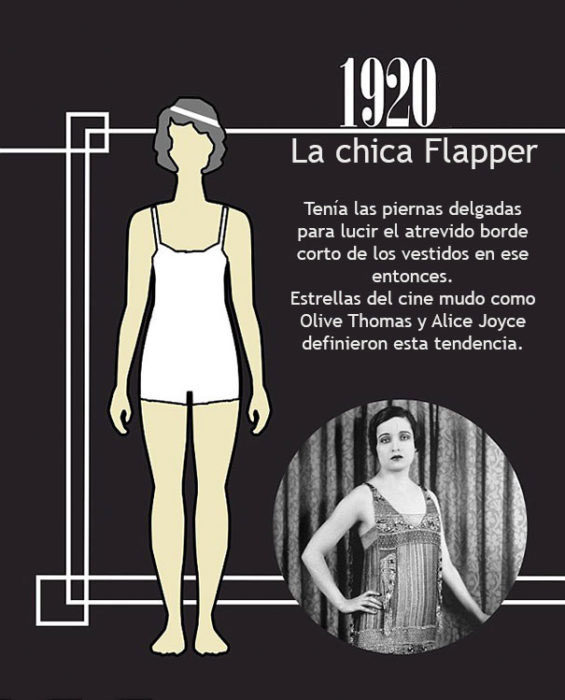 1920 chica flapper