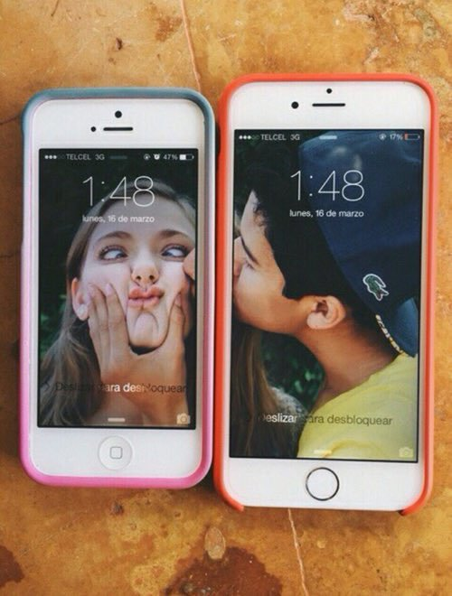 pareja goals celular