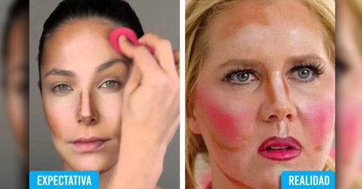Cover 1o Veces en que fracasaste al seguir un tutorial de maquillaje