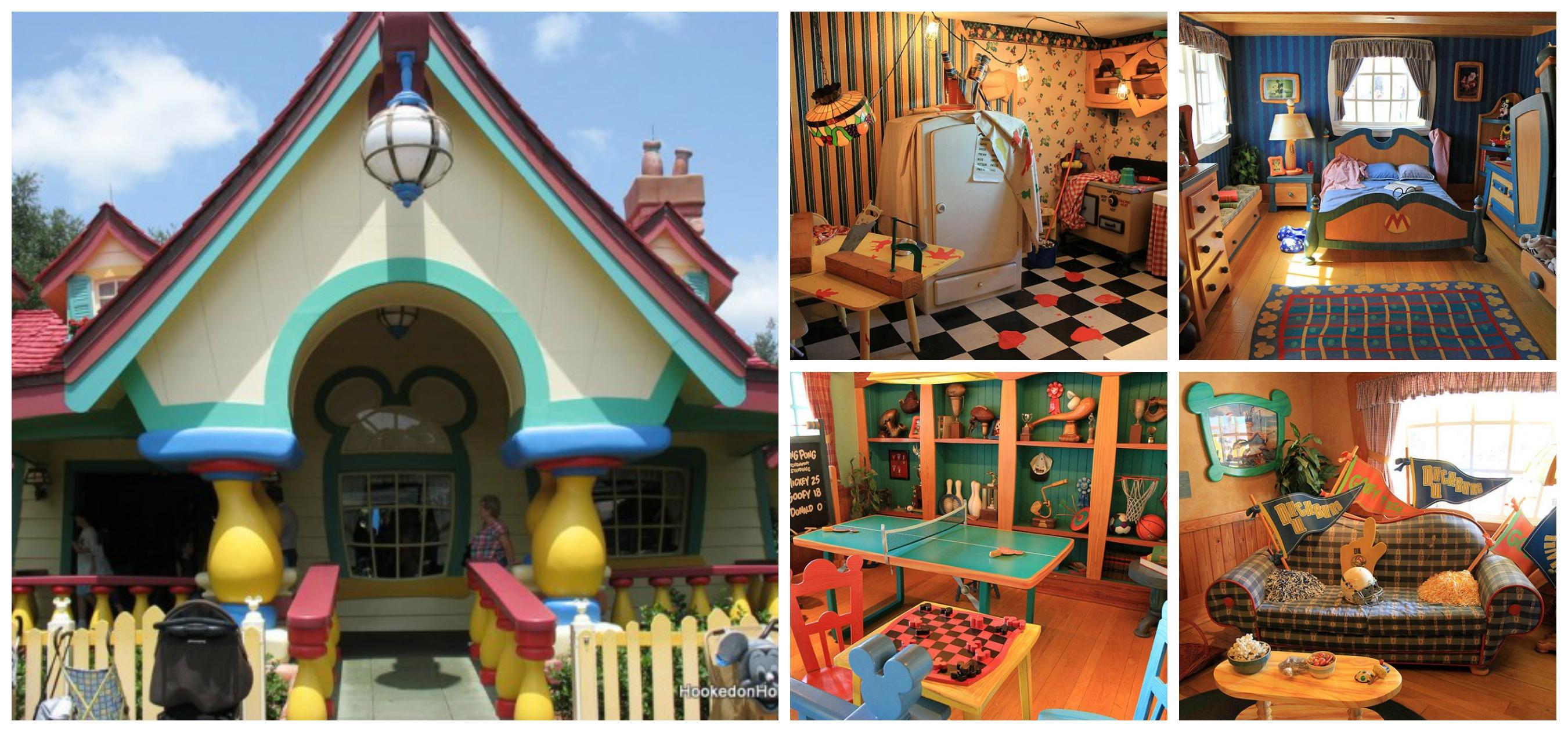 8 asombrosas casas reales inspiradas en dibujos animados - Casas de peliculas ...