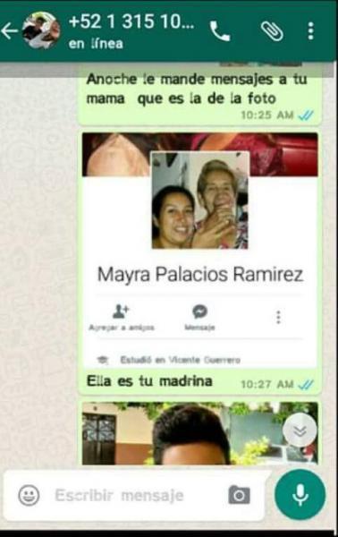 Chantaje WhatsApp - esta es tu madrina
