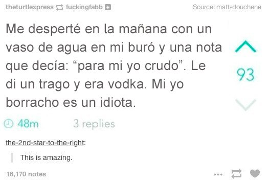 agua en buró era vodka