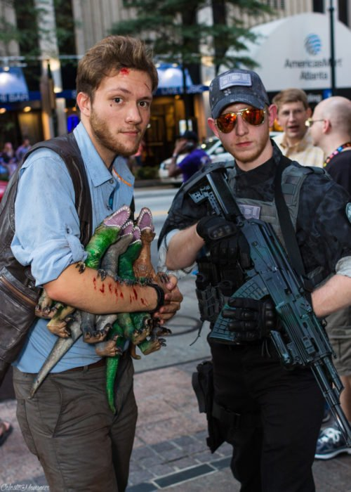 Chris Pratt cosplay jurassic world