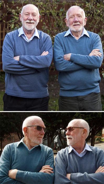 Dobles - viejitos iguales