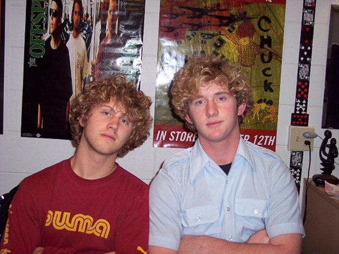 Dobles - tienen el mismo cabello