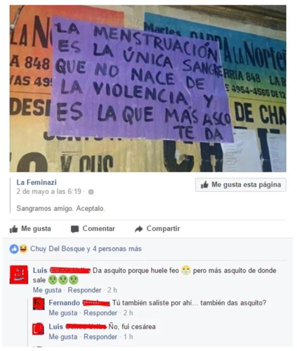 COMPARACIONES ACERCA DE LA MENSTRUACION