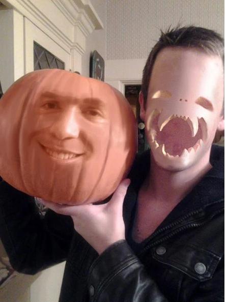 listo para la fiesta de halloween