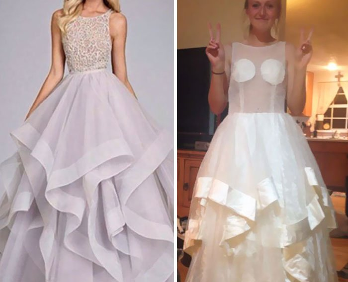 vestido blanco novia fail internet