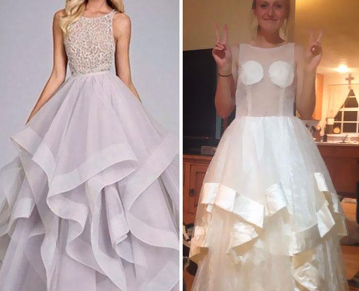 269a4b8a3c 17 Horribles vestidos de graduación comprados en Internet