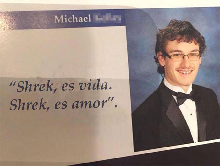 vida y amor shrek