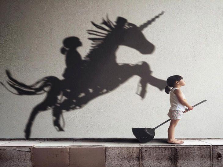 imaginación niña