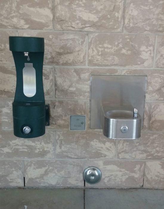 agua bebedores escuela inteligente