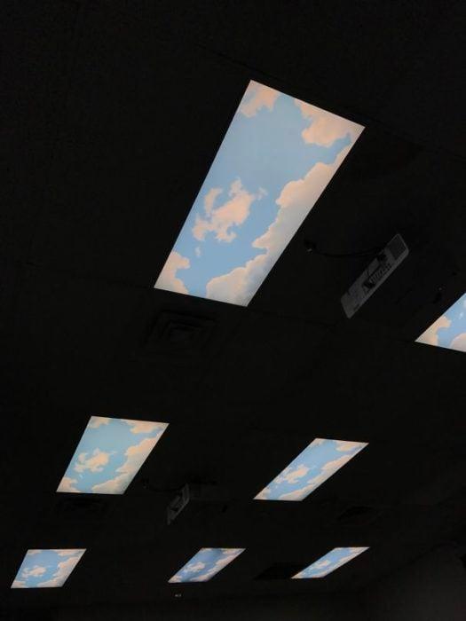 ventanas escuela inteligente cielo