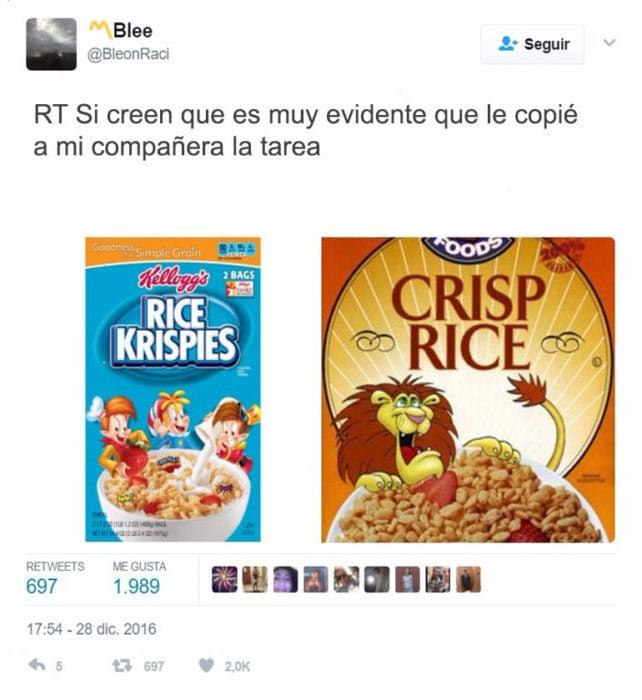 rice crisp tarea copiada