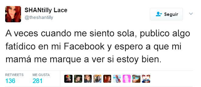 Memes soledad - me siento sola publico facebook