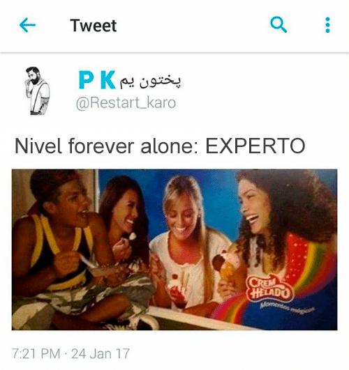 Memes soledad - nivel forever alone experto