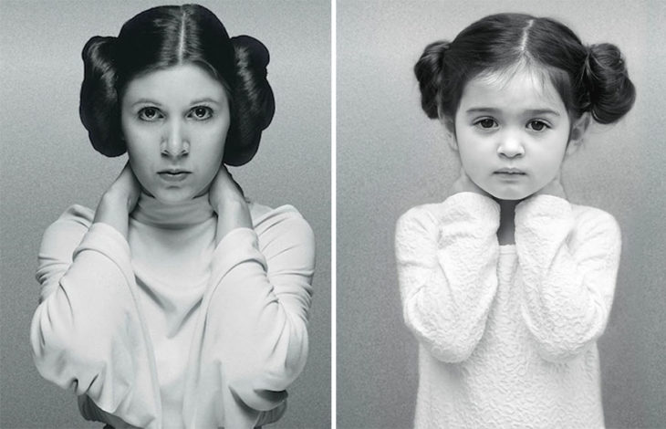 carrie fisher niña