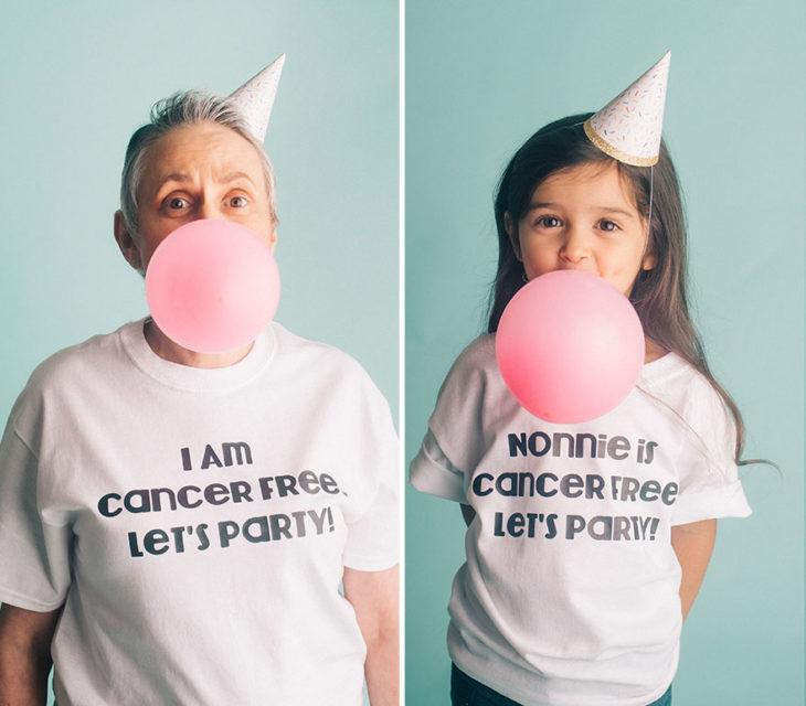 niña cáncer de mama