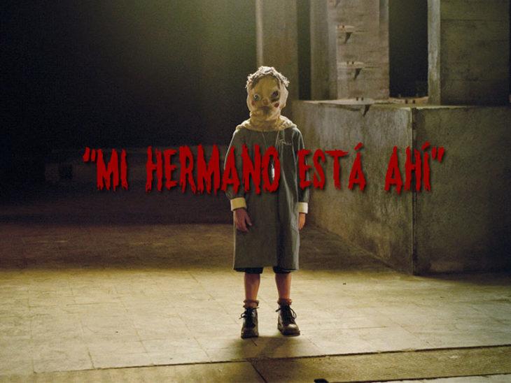 El orfanato tomás Frases escalofriantes de niños